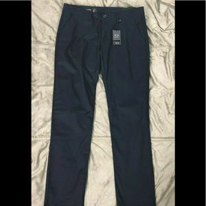 Armani Exchange A|X Straight Trousers Chino Blue